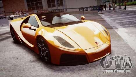 GTA Spano 2013 para GTA 4 vista direita