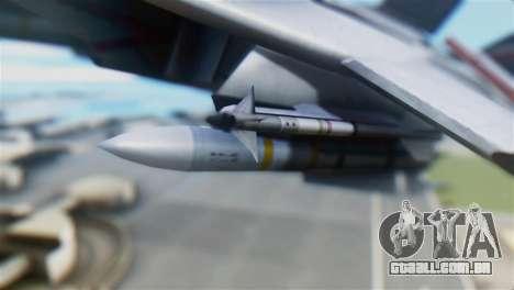 F-14D Super Tomcat Polish Navy para GTA San Andreas vista direita
