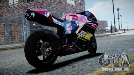 Bike Bati 2 HD Skin 3 para GTA 4 esquerda vista