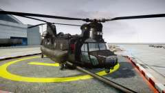 Boeing CH-47G Chinook [EPM] para GTA 4