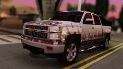 Chevrolet Silverado Enlodada