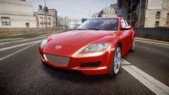 Mazda RX-8 2006 v3.2 Advan tires