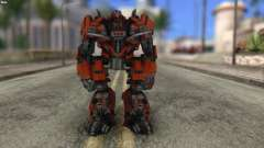 Autobot Titan Skin from Transformers para GTA San Andreas