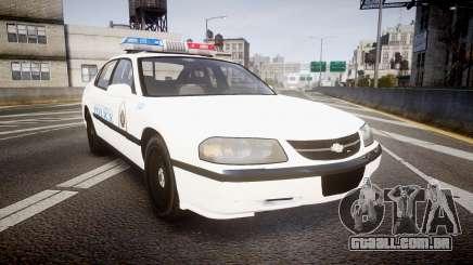 Chevrolet Impala Metropolitan Police [ELS] Traf para GTA 4