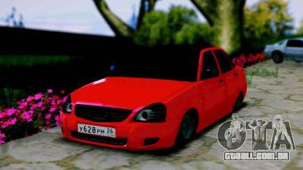 Lada 2170 Priora Spartak Moscovo para GTA San Andreas