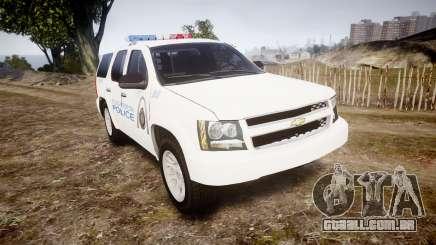 Chevrolet Tahoe Metropolitan Police [ELS] para GTA 4