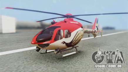 Indian Air Force EC-135 Dhruv SARANG Skin para GTA San Andreas