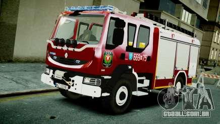 Renault Midlum 300.14 dXi Firetruck para GTA 4