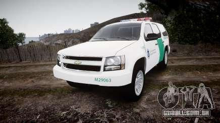 Chevrolet Tahoe Border Patrol [ELS] para GTA 4