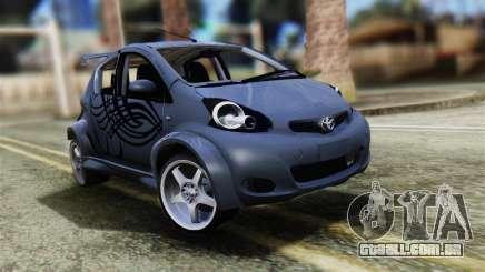 Toyota Aygo Sporting para GTA San Andreas