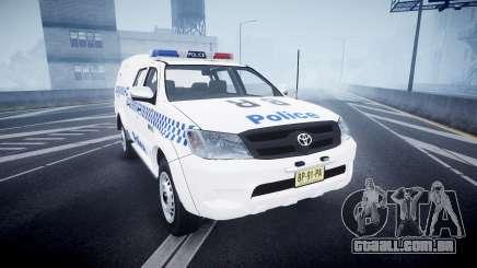 Toyota Hilux NSWPF [ELS] para GTA 4