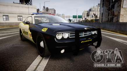 Dodge Challenger MCSO [ELS] para GTA 4