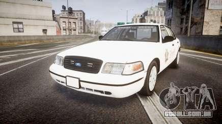 Ford Crown Victoria Sacramento Sheriff [ELS] para GTA 4