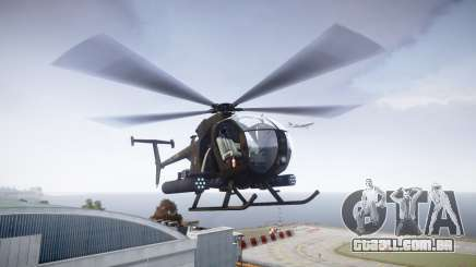 AH-6 Little Bird para GTA 4