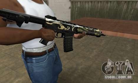 Kaymay M4 para GTA San Andreas