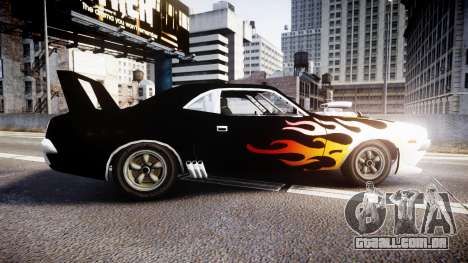 Patriot Vegas G20 Firebomb para GTA 4 esquerda vista
