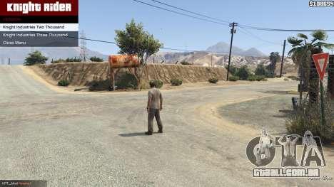 GTA 5 Knight Rider: K.I.T.T [.NET] 2.6.1 segundo screenshot