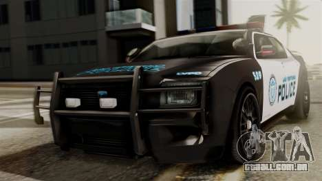 Hunter Citizen from Burnout Paradise Police LV para GTA San Andreas