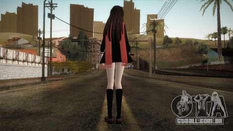 Tateyama Ayano (Kagerou Project) para GTA San Andreas terceira tela