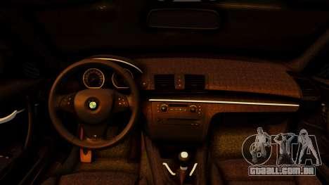 BMW 1M E82 v2 para GTA San Andreas vista direita
