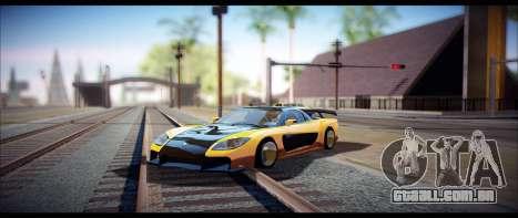 Temfan ENB para GTA San Andreas segunda tela
