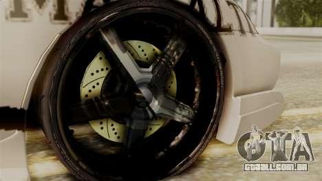 Toyota Supra Full Tuning para GTA San Andreas traseira esquerda vista