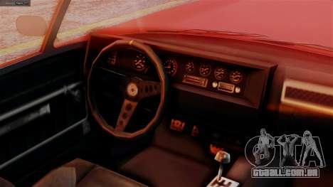 GTA 5 Invetero Coquette BlackFin IVF para GTA San Andreas vista direita