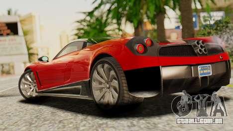 Pegassi Osyra para GTA San Andreas esquerda vista
