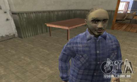 Rifa Skin Second para GTA San Andreas terceira tela
