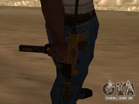 Micro SMG para GTA San Andreas segunda tela