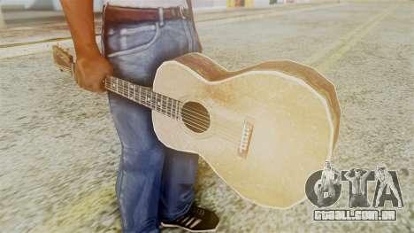 Red Dead Redemption Guitar para GTA San Andreas segunda tela