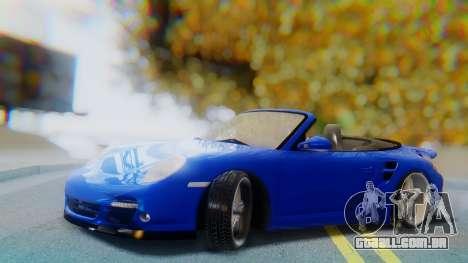 Porsche 911 2010 Cabrio para GTA San Andreas