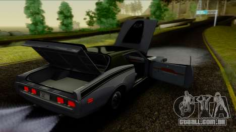 Dodge Charger Super Bee 426 Hemi (WS23) 1971 IVF para vista lateral GTA San Andreas