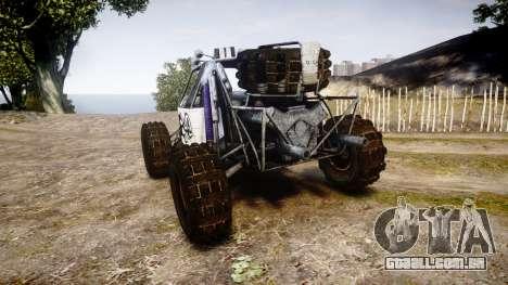 Buggy Fireball para GTA 4 traseira esquerda vista