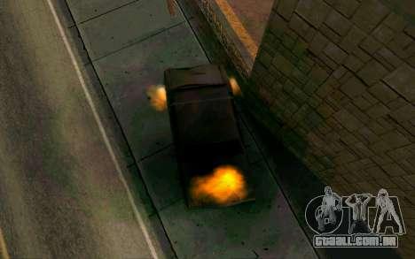 Burning car mod from GTA 4 para GTA San Andreas terceira tela