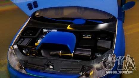 Peugeot 206 Full Tuning para GTA San Andreas vista superior