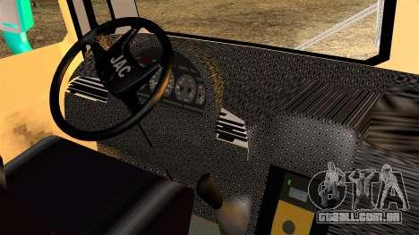 JAC Microbus para GTA San Andreas traseira esquerda vista