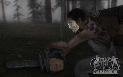 O Couro, máscara de rosto para GTA San Andreas terceira tela