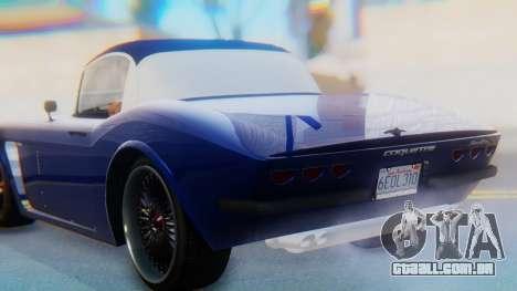 Invetero Coquette BlackFin v2 SA Plate para GTA San Andreas vista superior