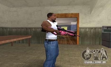 Lamen Sniper para GTA San Andreas segunda tela