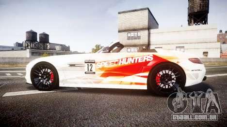 Mercedes-Benz SLS AMG para GTA 4 esquerda vista