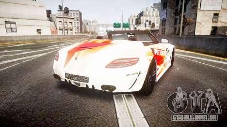 Mercedes-Benz SLS AMG para GTA 4 traseira esquerda vista