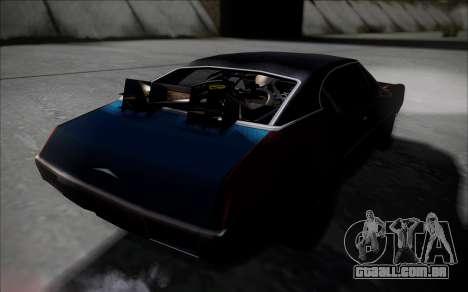 BTTF1-Clover para GTA San Andreas traseira esquerda vista