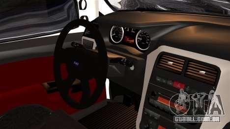 Fiat Doblo PPX para GTA San Andreas vista direita