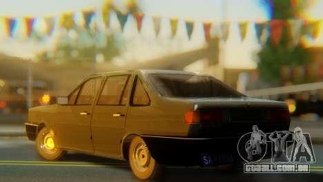 Volkswagen Santana Gz para GTA San Andreas esquerda vista