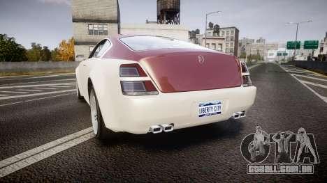 GTA V Enus Windsor para GTA 4 traseira esquerda vista