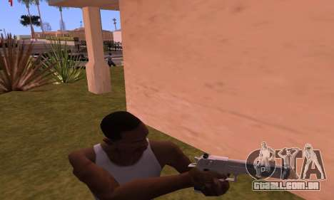 Deagle from Battlefield Hardline para GTA San Andreas terceira tela