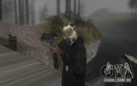 A máscara é do DayZ Standalone para GTA San Andreas segunda tela