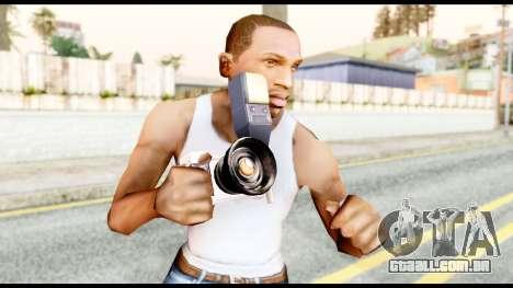 A câmera para GTA San Andreas terceira tela
