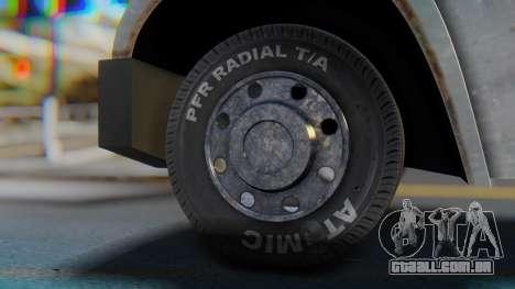 Linerunner PFR HD v1.0 para GTA San Andreas traseira esquerda vista
